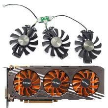 75 мм 4Pin APISTEK GA81S2U 12 В 0.38A 83×16 мм отверстие GTX 980 вентилятор графического процессора для ZOTAC GTX 980-4GD5 Ампер HA кулер для видеокарты вентилятор охлаждения