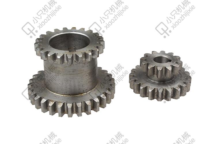 free shipping 2 pcs / set gear Teeth T29xT21 T20xT12 Dual Dears Metal Lathe Gears For Sale