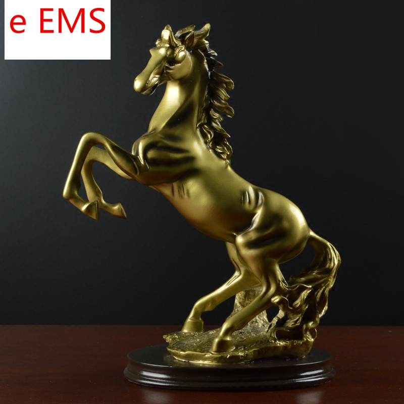 все цены на Animals Bust Retro Horse Statue Continental Resin Craftwork Home Decorations Art Material L2362 онлайн