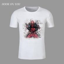 2016 New Arrive American Comic Badass Deadpool T-Shirt Tees Men Women Cartoon Characters 3d t shirt Funny Casual tee shirts tops