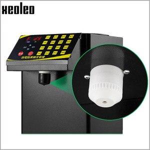 Image 3 - XEOLEO 버블 티 설탕 디스펜서 9L Fructose 정량 machine16 그리드 자동 Fructose 기계 시럽 디스펜서