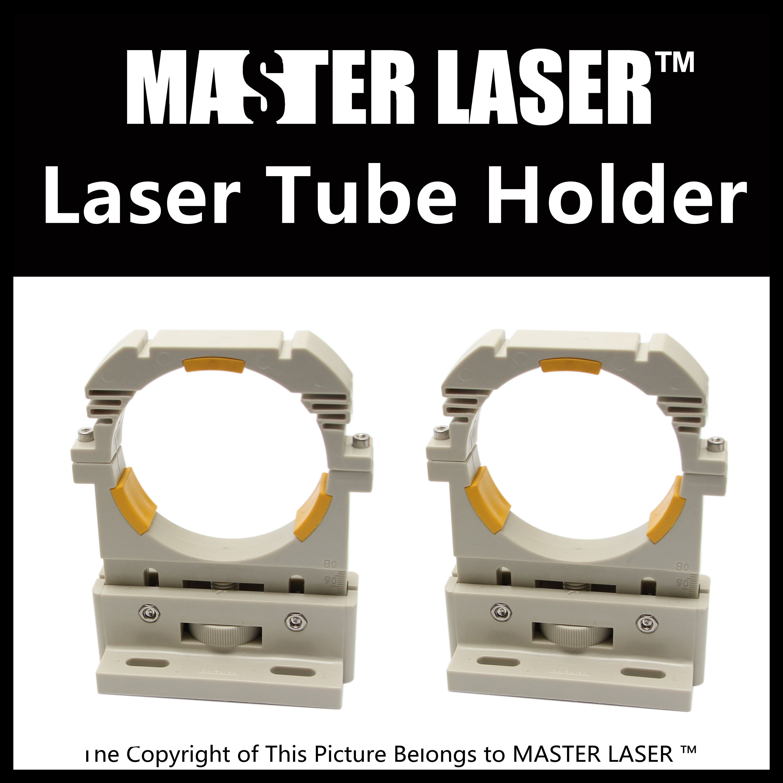 Laser Tube Mount Barackets Support for 100w 120w 150W Laser Tube 80mm Diameter High Quality Laser Tube Holder