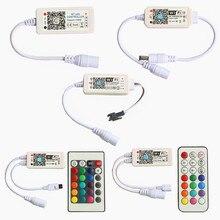 บลูทูธWiFi LED Controllerสำหรับ5V 12V 24V SMD 2835 3014 3528 5050 5630 WS2811 WS2812B SK6812เดี่ยวสีRGB RGBW LED Strip