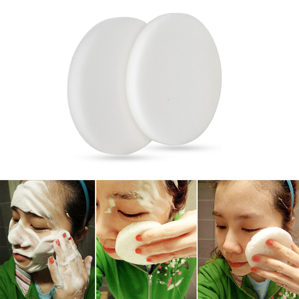 10 Pcs One Time Facial Cleansing Massage Makeup Remover Sponge Deep Cleaning Wash Face Clean Care Tool Make Up Cotton Tool