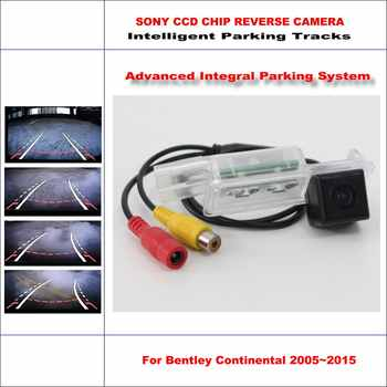 Hohe Qualität 3089 Chip Intelligentized Rückfahrkamera Für Bentley Continental 2005 ~ 2015/ntsc pal rca aux hd sony ccd 580 tv linien