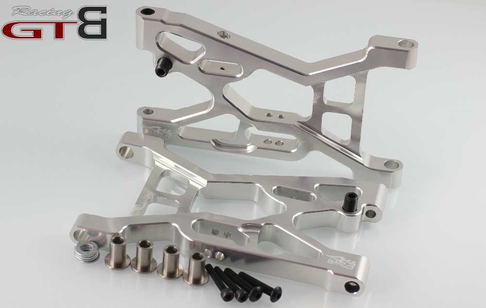 1 5 rc car gas GTB racing CNC alloy front suspension arm LOSI 039 for Losi