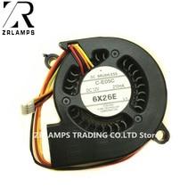 ZR Projektörü Blower Soğutma Fanı C C E05C 12 V 210MA için Fit S 100 EB C26XE/C26SH/C28SH/C30X /C30XE