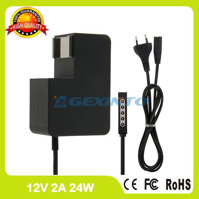 12 V 2A 24 W adaptador de computadora portátil tablet pc cargador 1512 1513 para Microsoft superficie 1 RT 2 RT2 1516 1572 PA-1240-06MX PA-1240-07MX
