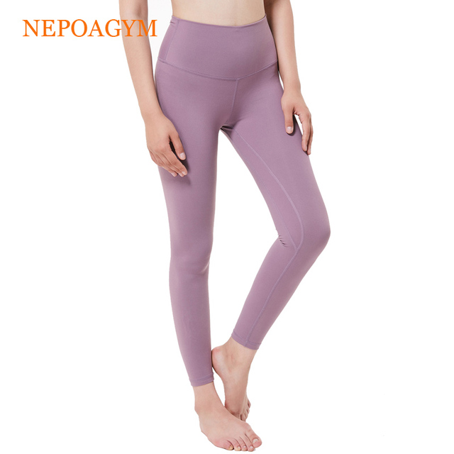 6e1f30c5af12b Nepoagym Women Yoga Leggings Squat Proof Yoga Pants with Hidden Pocket  Sports Tights Moisture wicking Fitness Pant