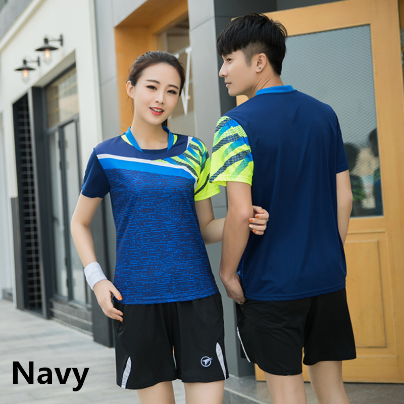 xl Products Hot Sale Trikot Badminton Tischtennis Navy 2 Xl