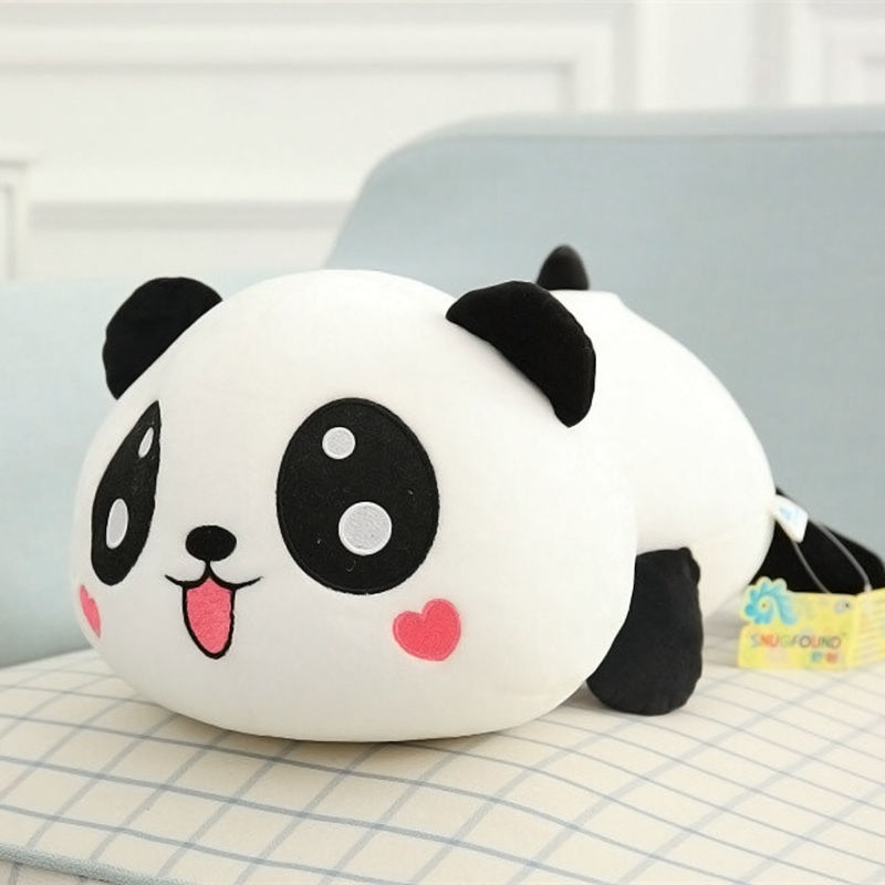 20CM Plush Doll Toy Soft Stuffed Animal Panda Plush Doll Panda Soft Pillow Cushion Bolster Children Birthday Christmas Gift
