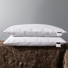 100% Typha Feather Warm Breathable Fresh Smelling Sleeping Pillows Health Care Promoting Sleep Washable care 10 Year Warranty