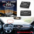 For Toyota Fortuner / Hilux / Tacoma 2015 2016 Car Head Up Display Saft Driving Screen Projector - Refkecting Windshield
