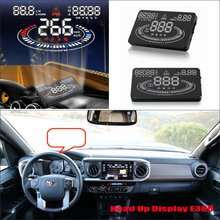 For Toyota Fortuner / Hilux / Tacoma 2015 2016 Car Head Up Display Saft Driving Screen Projector – Refkecting Windshield