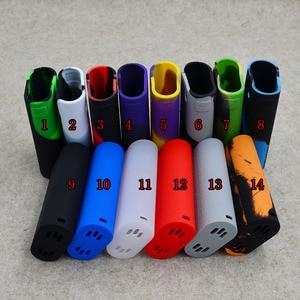 Image 1 - Wismec bruyant cricket mod II 25 kit étui en silicone peau manchon boîtier autocollant de couverture pour Wismec bruyant Cricket 2 D25 kit boîte mod