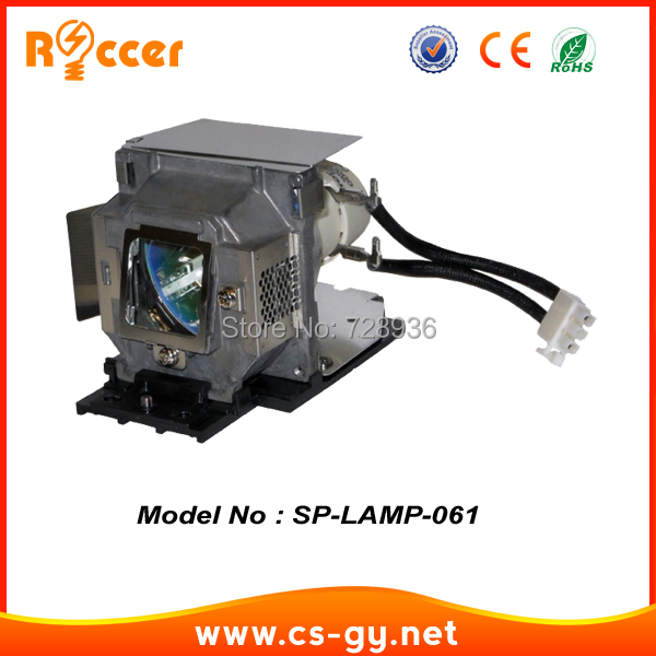 90 Days Warranty Replacement Projector lamp SP-LAMP-061 / SPLAMP061 for INFOCUS IN104 awo projector lamp sp lamp 005 compatible module for infocus lp240 proxima dp2000s ask c40 150 day warranty