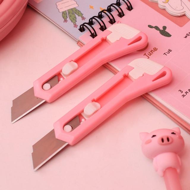 Купить милый мультяшный пластиковый металлический нож для творчества