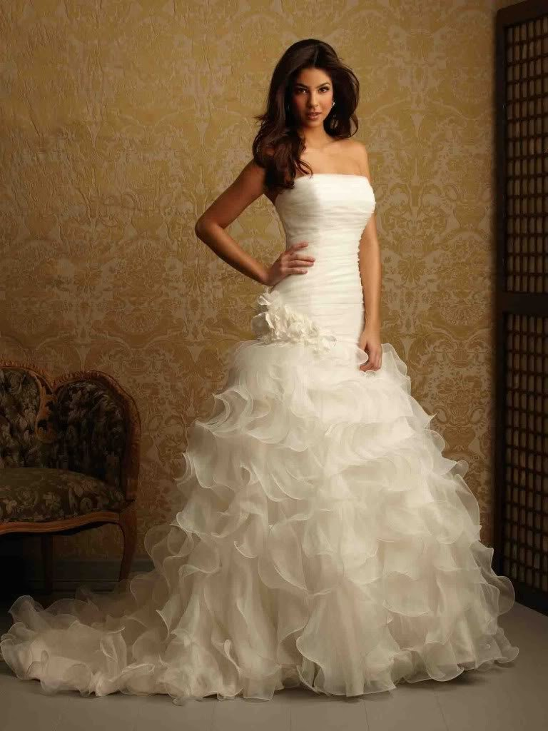 New White Ivory Wedding Dress Custom Made Bridal Dresses Vestido Noiva Bbranco Princess Gown In From Weddings Events On