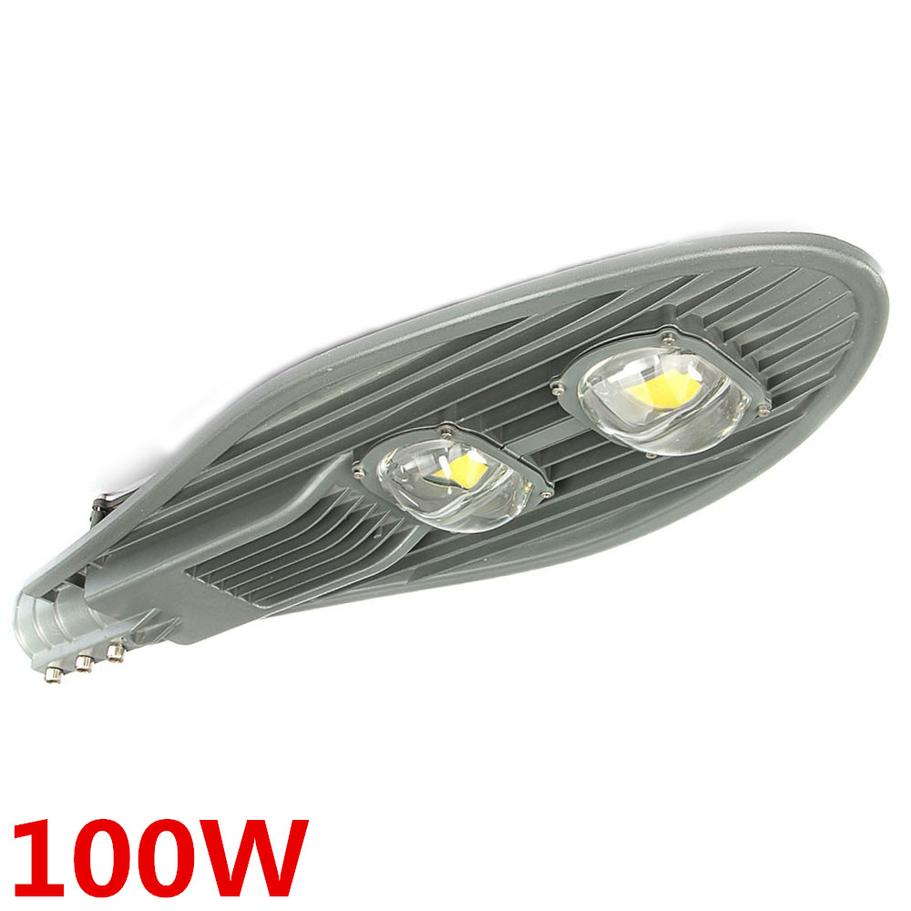 цена 4pcs/lot High Power Led Street Light 100W Waterproof IP65 Led Streetlight AC85-265V Led Outdoor Lighting Garden Park Road Lamp