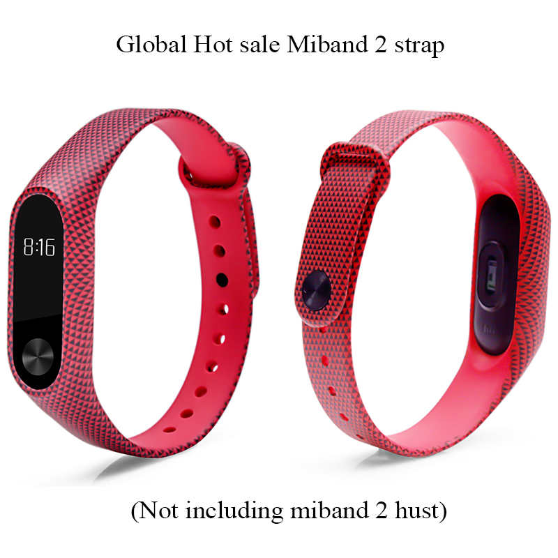 Image 2 - Pulsera miband 2 strap For xiaomi mi band 2 bracelet  Mi Band2 Accessories Smart correa wrist strap  with top quality silicone-in Smart Accessories from Consumer Electronics