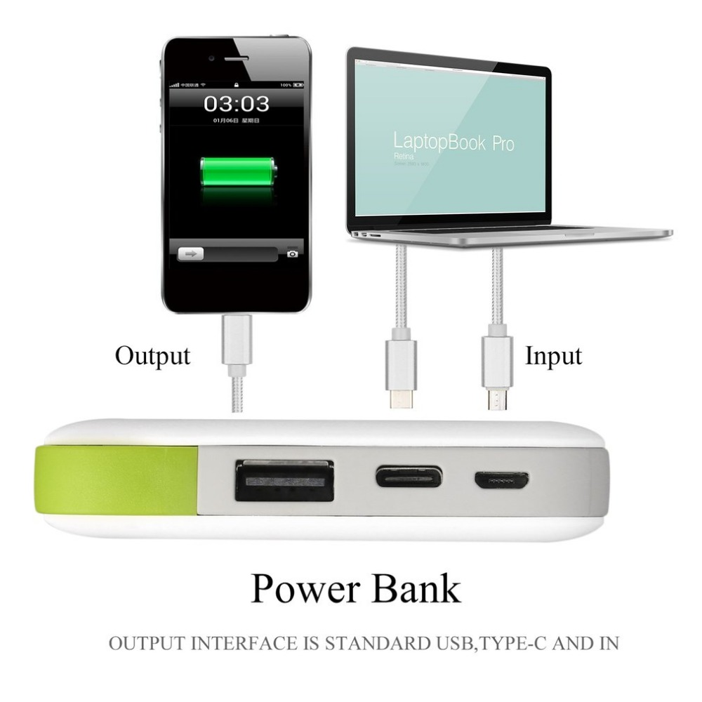 US $26 86 |Aigo Powerbank 10000mAh Portable Power Bank Charger Backup  External Battery Pack for Smartphones Tablet PC Rechargeable 5V/2A-in Power  Bank