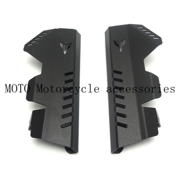 Motorcycle Radiator Grille Guard Side Cover Protector For Yamaha MT07 FZ07 FZ-07 2013-2016 Radiator Grille Guard Side Cover arashi motorcycle radiator grille protective cover grill guard protector for 2008 2009 2010 2011 honda cbr1000rr cbr 1000 rr