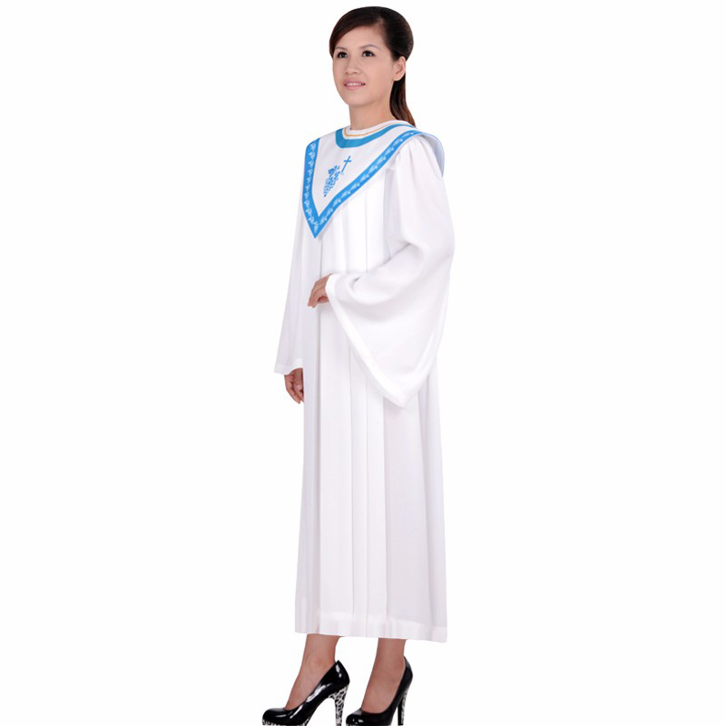 Christian Church Poetry Choir Dress Clothing Jesus Class Service Wear Wedding Hymn Holy Garments Nun Costume Christian Sing Robe