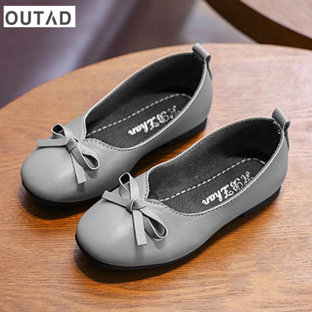 Fashion Casual Nude Girls Shoes Bowknot Flat Heels with Low-cut Design Soft  Outsole Anti 6275e5ca561f