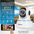 ESCAM QF002 HD 720P IP Camera Wifi Wireless Baby Monitor IR-Cut Night Vision P2P Onvif Security Camera Audio Intercom