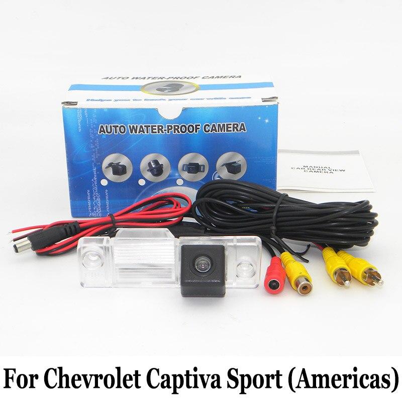 Caméra de Stationnement de voiture Pour Chevrolet Captiva Sport (amériques) 2008 ~ 2016/RCA AUX Fil Ou Sans Fil HD Nuit Vision Caméra de vision Arrière