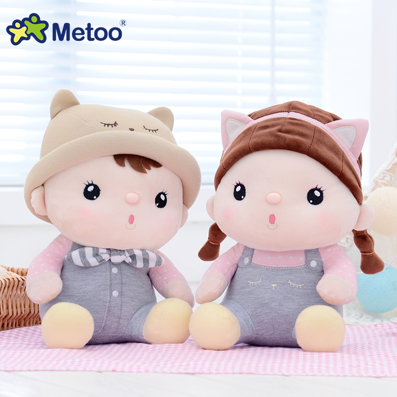 Metoo Dolls Sounding Recording & playback Kawaii Plush Stuffed Cartoon Kids Toys Girls Children Baby Birthday Christmas Gift S66 20cm plush cartoon red blue owl toy pendant stuffed dolls baby kids children kawaii gift toys home shop decoration triver page 10