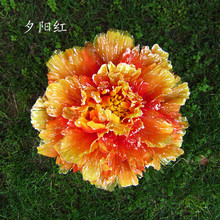 40cm dance props big peony flowers multi color flower