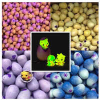 Magic Cartoon Mini Hatch Friends Surprise Hatchi Egg Hatchable Egg Season 2 3 4 Bonus Doll Toy Animal Dinosaur Egg Gift For Kids