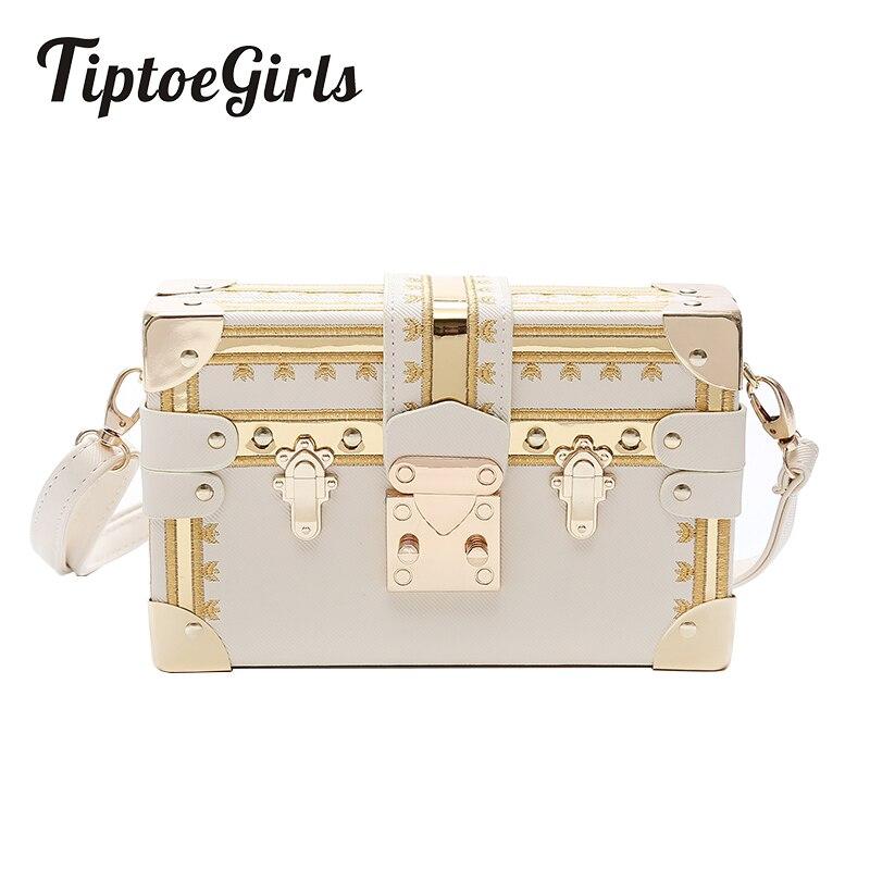 e45a2e6024e2 Женская модная коробка женская сумка с заклепками хит цвета женская сумка  маленькая квадратная сумка новый набор сумок через плечо Европей..