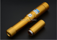 Big sale Super Powerful Blue laser pointer 450nm 10000mw 10w LASER Flashlights Burning Match cigar cutting paper plastic+5 caps+Glasses
