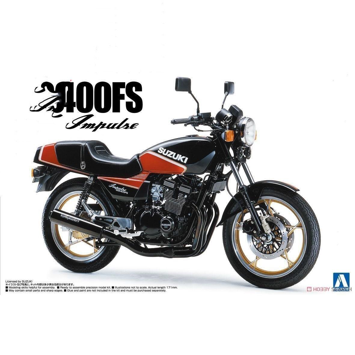 1/12 GSX400 FS 1982 Motorcycle 053951/12 GSX400 FS 1982 Motorcycle 05395