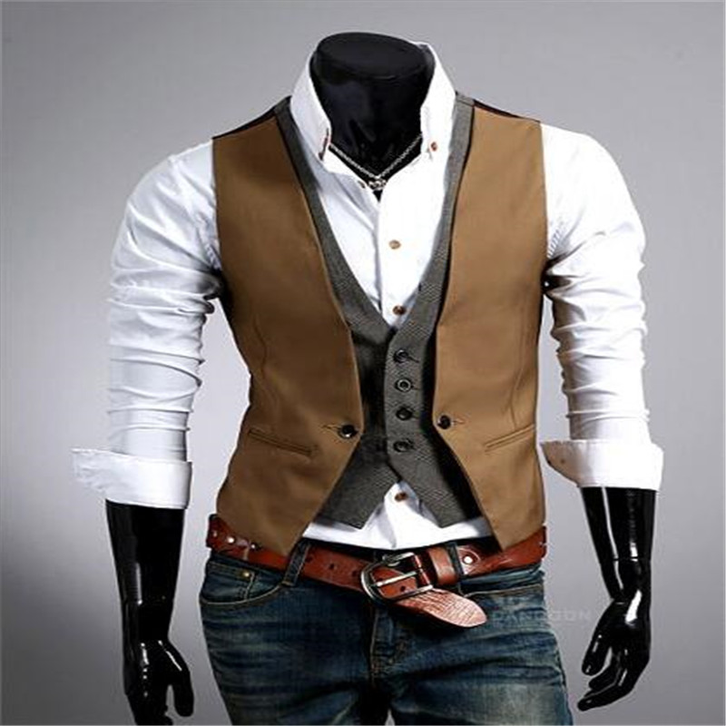 mebosya 2016 simple men black mens vest european and american style mens suit vests cheap men. Black Bedroom Furniture Sets. Home Design Ideas