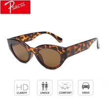Psacss Vintage Cat Eye Sunglasses For Women Luxury Brand High Quality Sun Glasses Female Daily Eyewear oculos de sol feminino