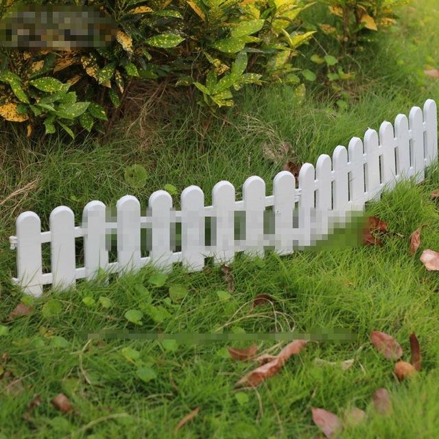 unids vallas protectoras de plstico cerca del jardn al aire libre decoracin jardn decoracin