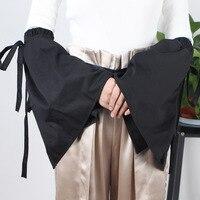 Мода бинты труба Универсальный дикий слой поддельные Винтаж Черный рукава Женская летняя обувь УФ-защита ice рукава длинный отрезок