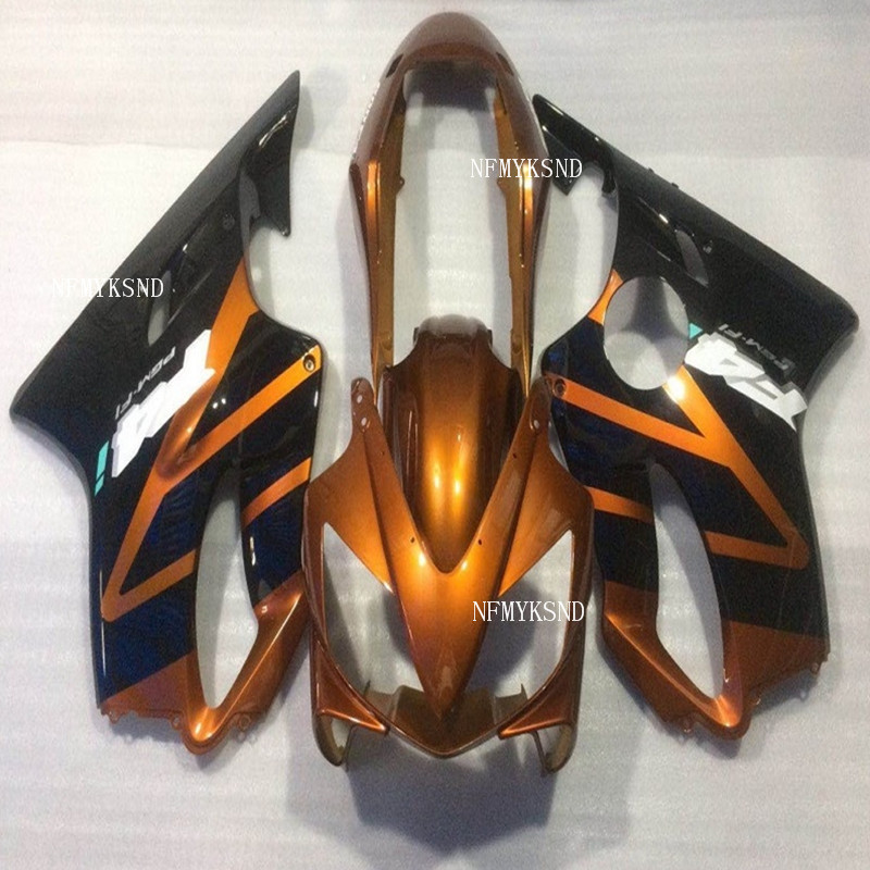 100% ABS fit injection fairing for <font><b>Honda</b></font> black CBR 600 F4i 04 05 06 07 fairings kit <font><b>CBR600F4i</b></font> 2004-2007 moto hulls <font><b>parts</b></font> image