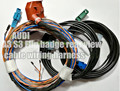 For Audi A3 S3 8V rear camera harness reverse image a3 8v flip badge camera cable wiring harness