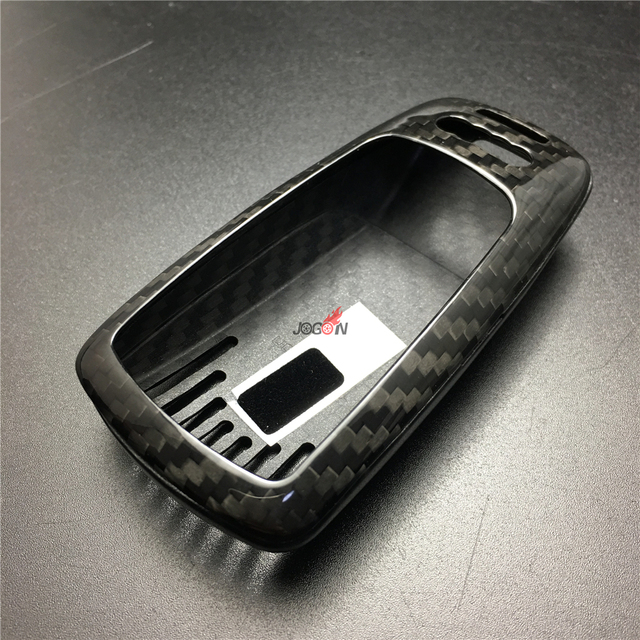 Carbon Fiber Remote Key Fob Case Cover For Audi A4 A5 B9 8w Q7 4m Tt
