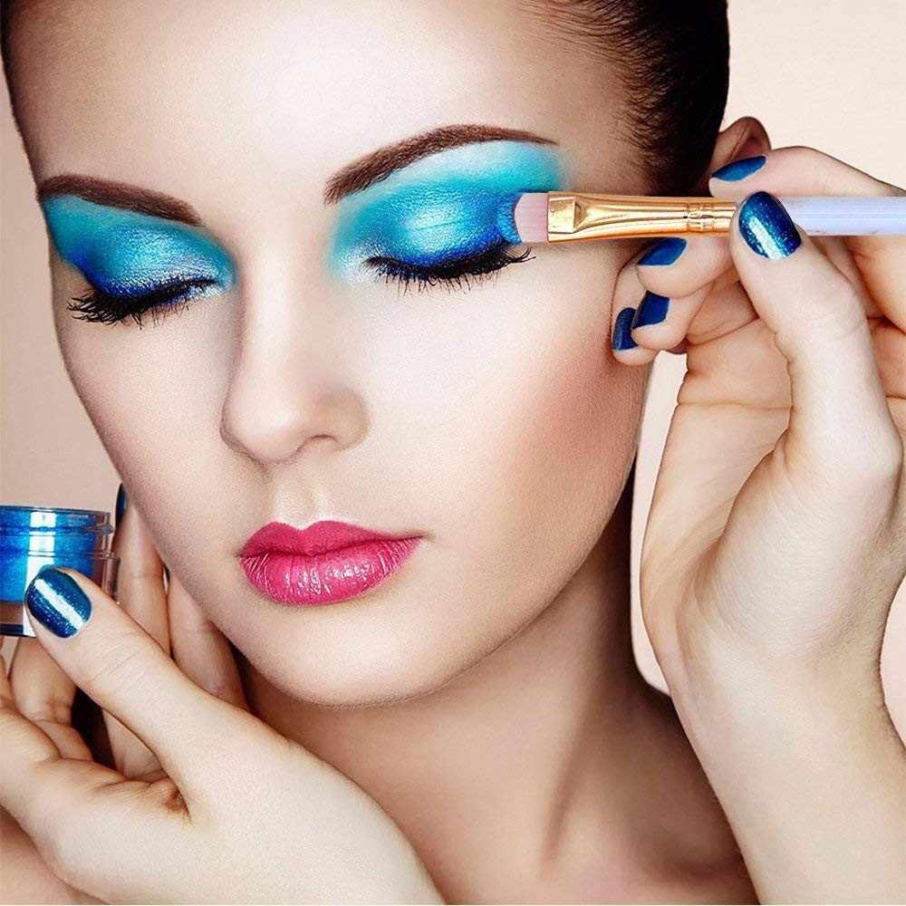 5 uds profesional mármol maquillaje cepillos multifuncional corrector brocha de polvo para sombras de maquillaje cosméticos herramienta FFE20