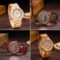 2016 Sandalwood Wood Watch Men Luxury Watches UWOOD Quartz Watch Casual Mens Dress Watches Wooden Wristwatch