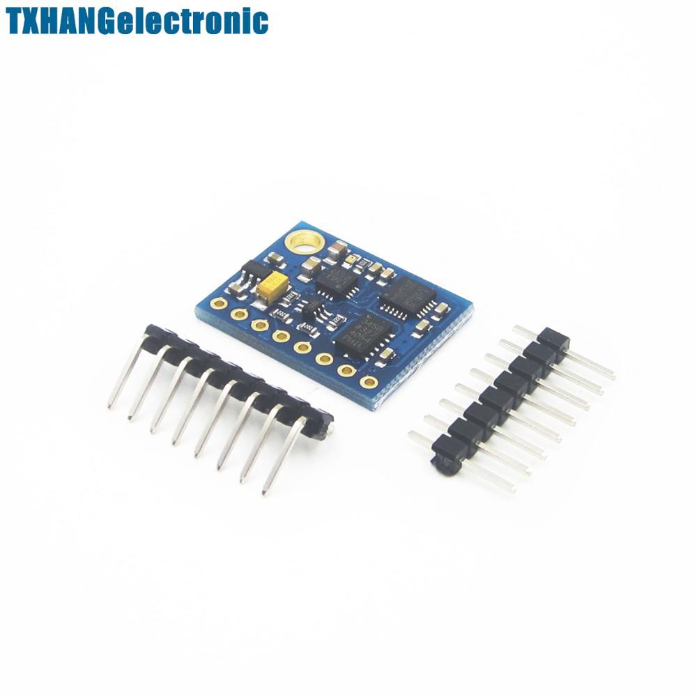 Integrated Circuits 6DOF 9DOF IMU Sensor GY-85 BMP085 Sensor Modules 9 Axis Sensor Module ITG3205 +ADXL345 + HMC5883L