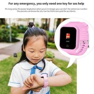 Image 3 - 2019 Interpad Anti Verloren Smart Uhr Kinder GPS Uhr SOS Zwei weg Anruf Smart Baby Uhr Für iOS android Telefon Smartwatch