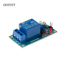 OOTDTY 5V Photoswitch Light Sensor Switch LDR Photoresistor Relay Module Detection Board dc 5v sulfur dioxide so2 qualitative detection sensor module 2sh12