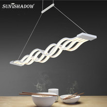 Современная светодиодная потолочная люстра, потолочный светильник с фиксированным светом для гостиной, столовой, кухни