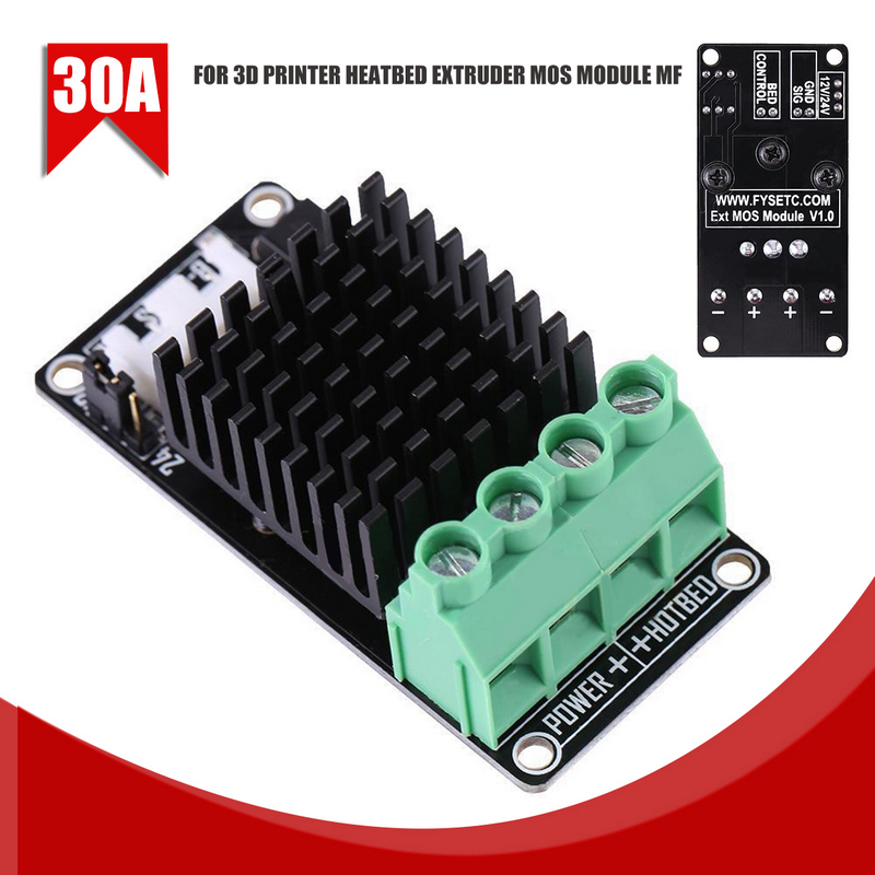 Mayitr 1pc 30A Heating-Controller MOS Module MKS MOSFET For 3D Printer Heatbed Extruder MFMayitr 1pc 30A Heating-Controller MOS Module MKS MOSFET For 3D Printer Heatbed Extruder MF
